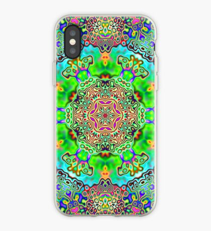 Psychedelic Panda iPhone Case