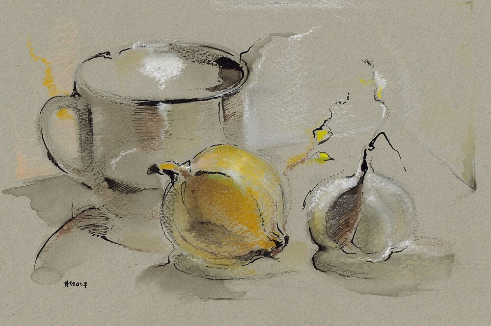 Grey Still Life by Mara Irbe
