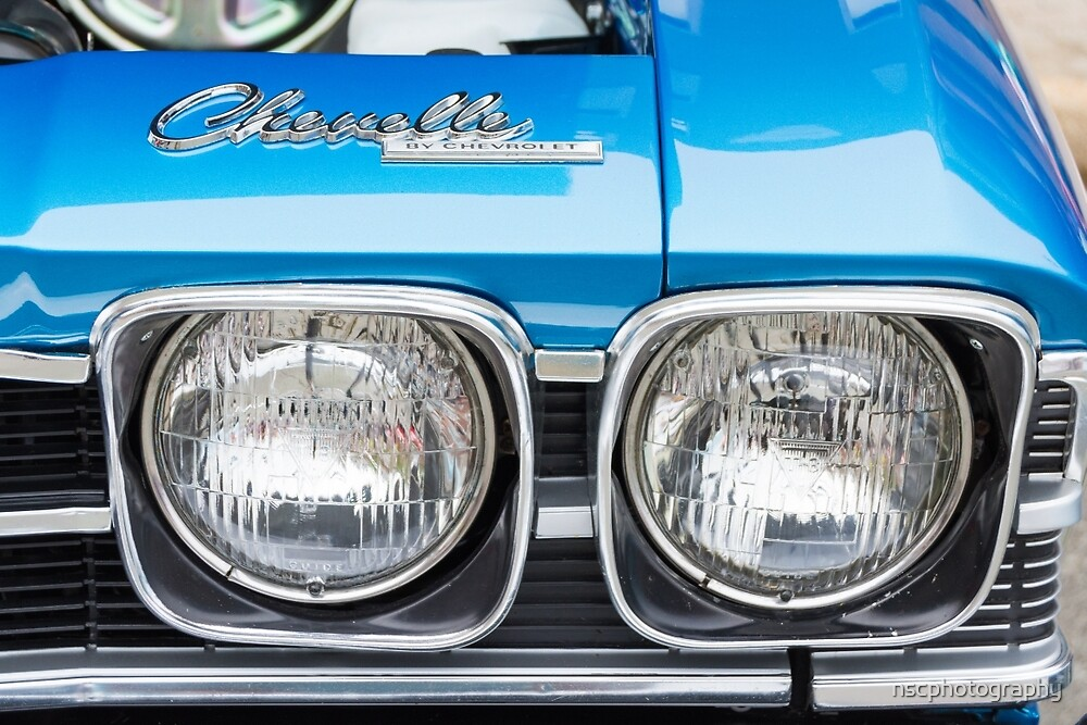 Chevelle Headlights by nscphotography