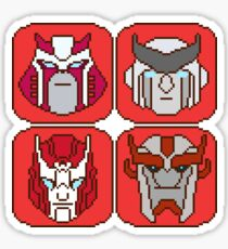 Pixel Ratchet[s] Sticker