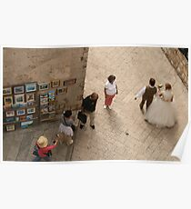Bride and Groom Poster