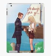 I'll always pick you iPad Case/Skin