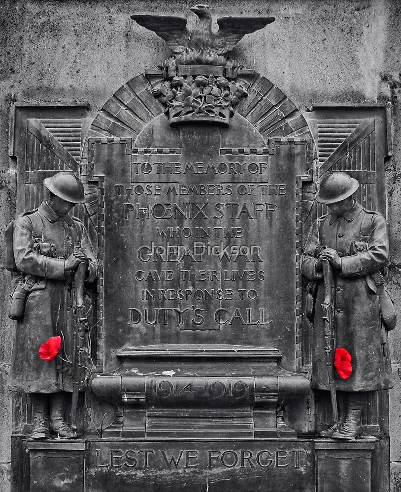 LEST WE FORGET by John Dickson