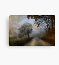 This Familar Road Canvas Print