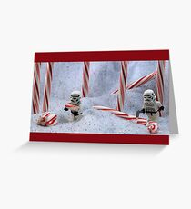 Candy Cane Forest Greeting Card