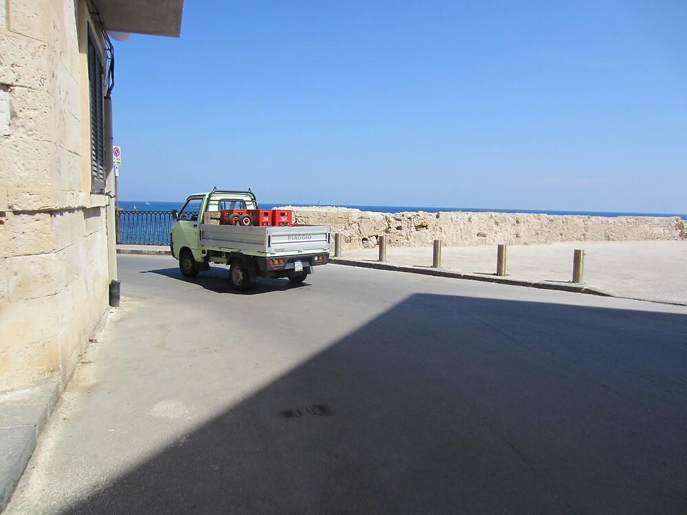 Little van by the sea by liptonmania