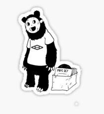 AAHIPHOP D.I.T.C Bear Sticker