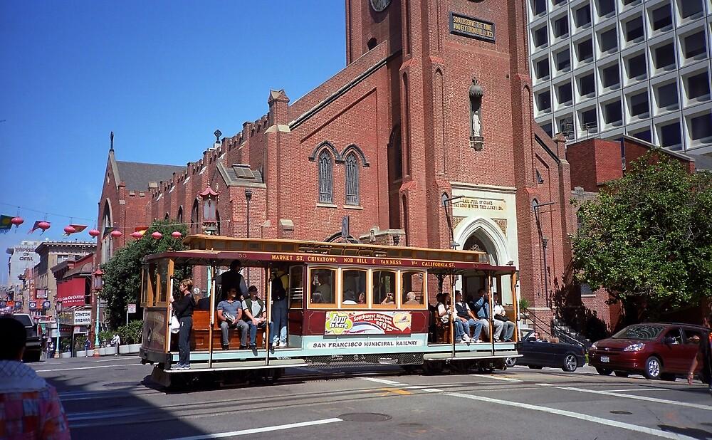 San Francisco Cable Car by Frank Romeo