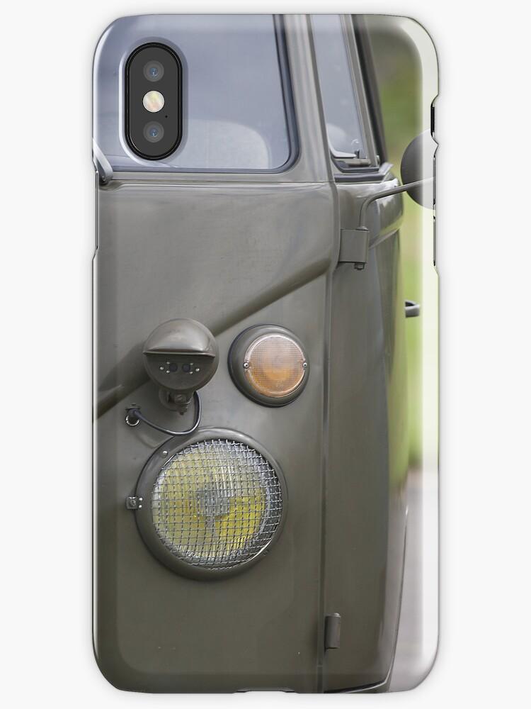 VW Bus iphone case by Martyn Franklin