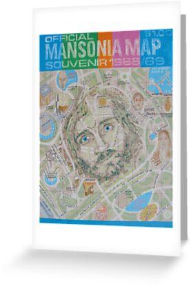 Mansonia Map by Roman Scott