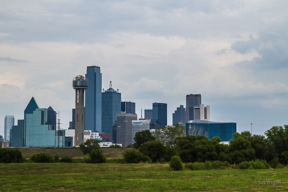 city of Dallas by sanngat