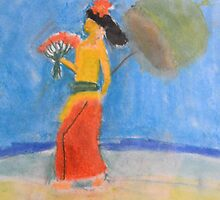 Zohara Ashley-Ross' 'Lady at the Beach' by Art 4 ME