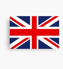 Union Jack Flag of the United Kingdom. Canvas Print