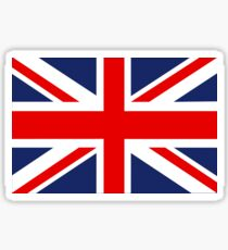 Union Jack Flag of the United Kingdom. Sticker