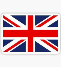 Pegatina Union Jack Bandera del Reino Unido.