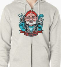 Bill Effing Murray Zipped Hoodie