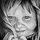 A Childs Smile by Ron  Monroe