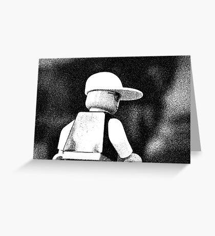 Sketchy Guy Greeting Card