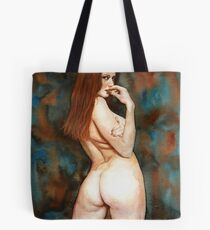 Red-haired Beauty - Dangerous Look Tote Bag