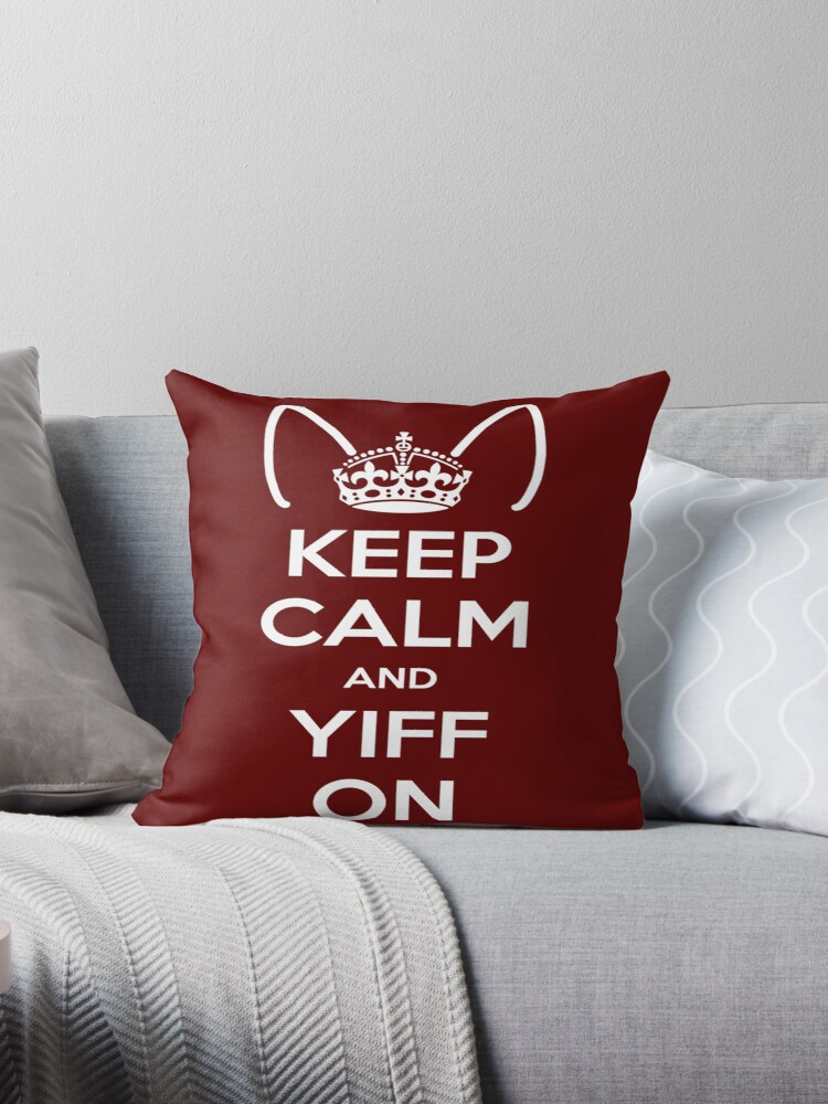 Keep Calm and Yiff On by kynewuff