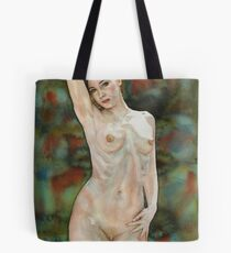 Red-haired Beauty Tote Bag