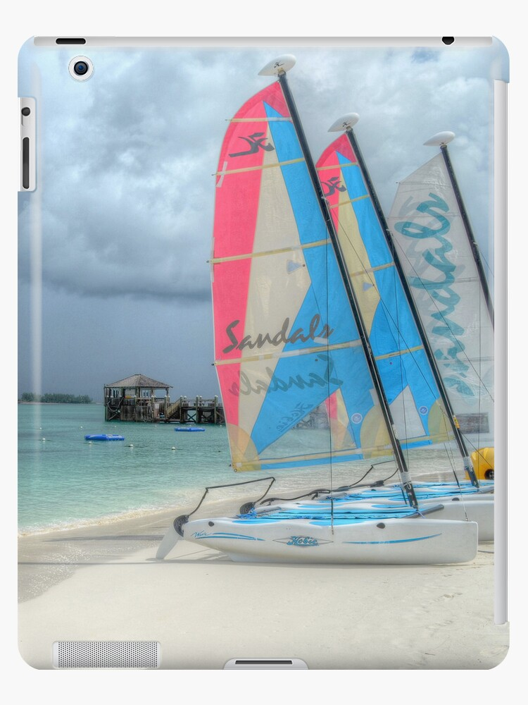 Beach Mood   iPad Case by Jeremy Lavender Photography