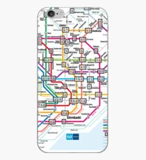 Tokyo Metro Map iPhone-Hülle & Cover