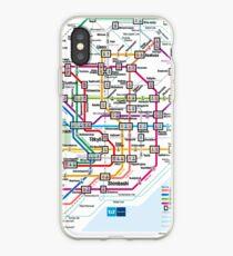 Tokyo Metro Map iPhone Case