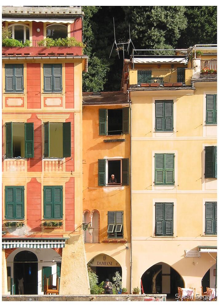 Portofino, Italy by Susan Segal