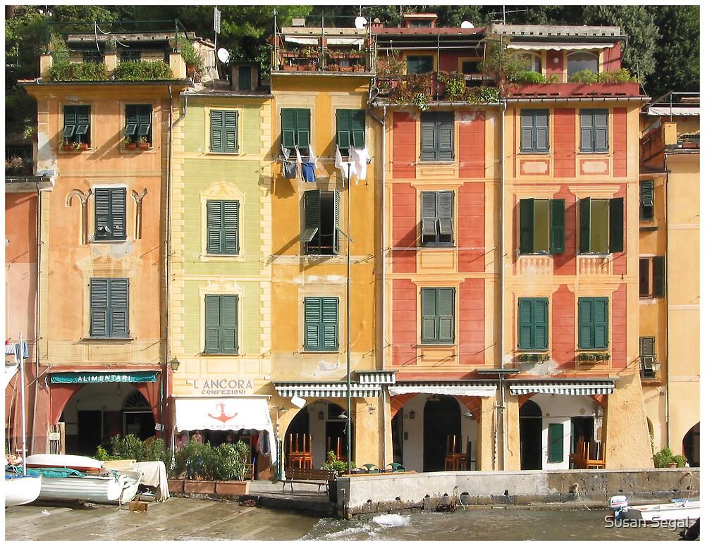 Portofino, Italy 2 by Susan Segal