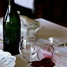 Spilled Wine  by JerryCordeiro