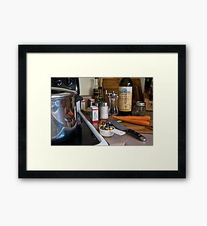 Pirate Stew Framed Print