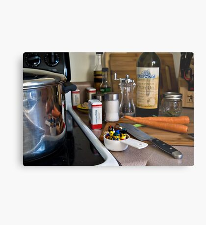 Pirate Stew Metal Print