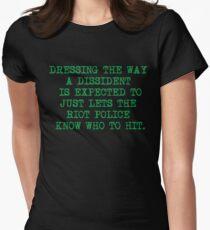 DISSIDENT T-shirt moulant femme