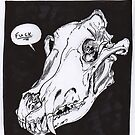 Wolf Skull by death by burgers
