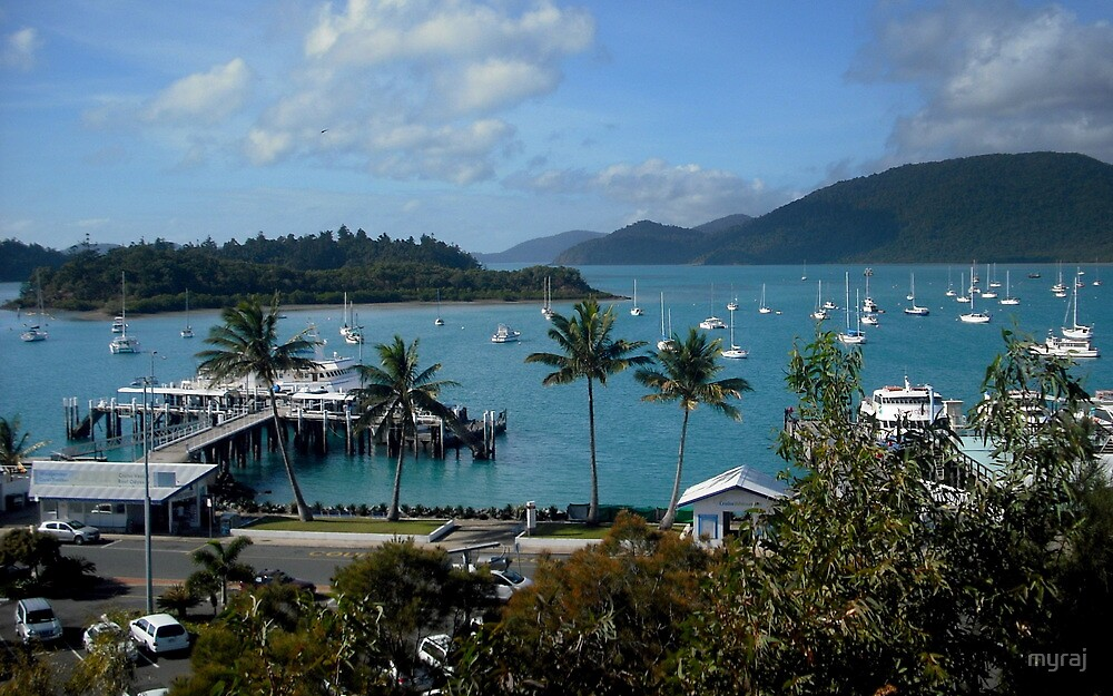 Airlie Beach ... from the lookout by myraj
