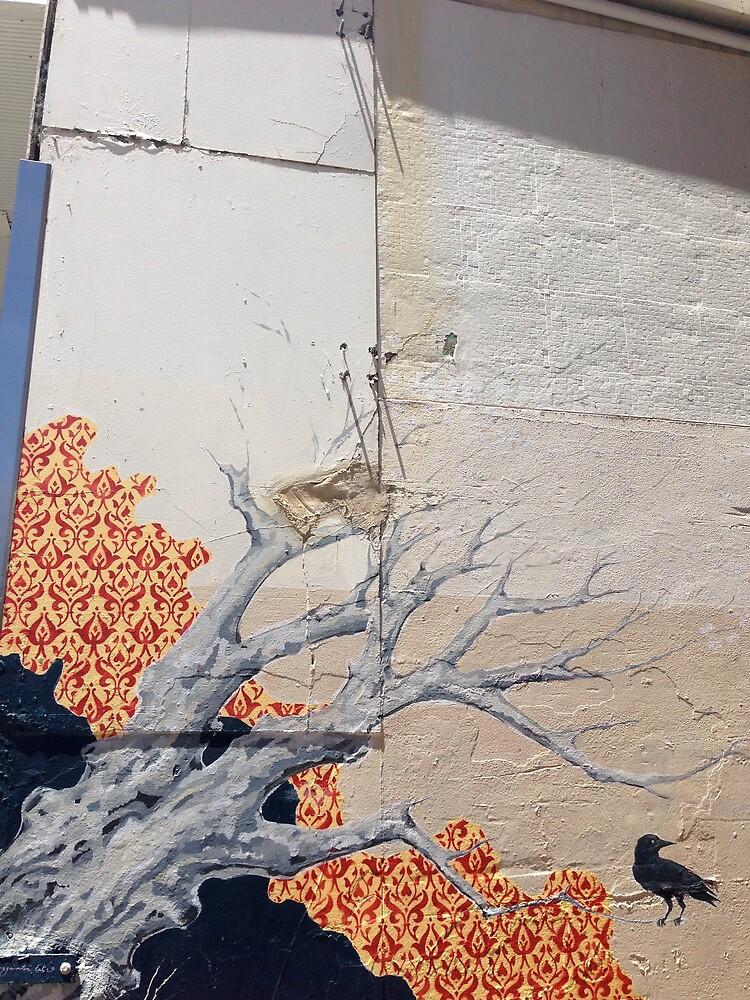 Graffiti art Perth by fluidink