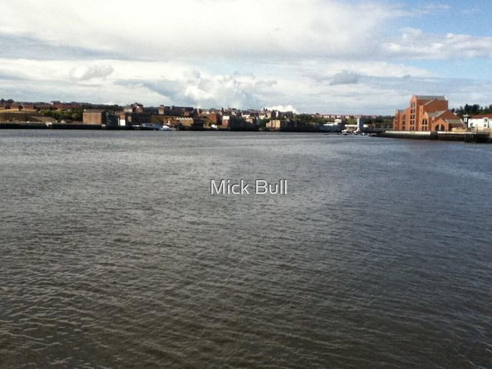 Across the Tyne by Mick Bull