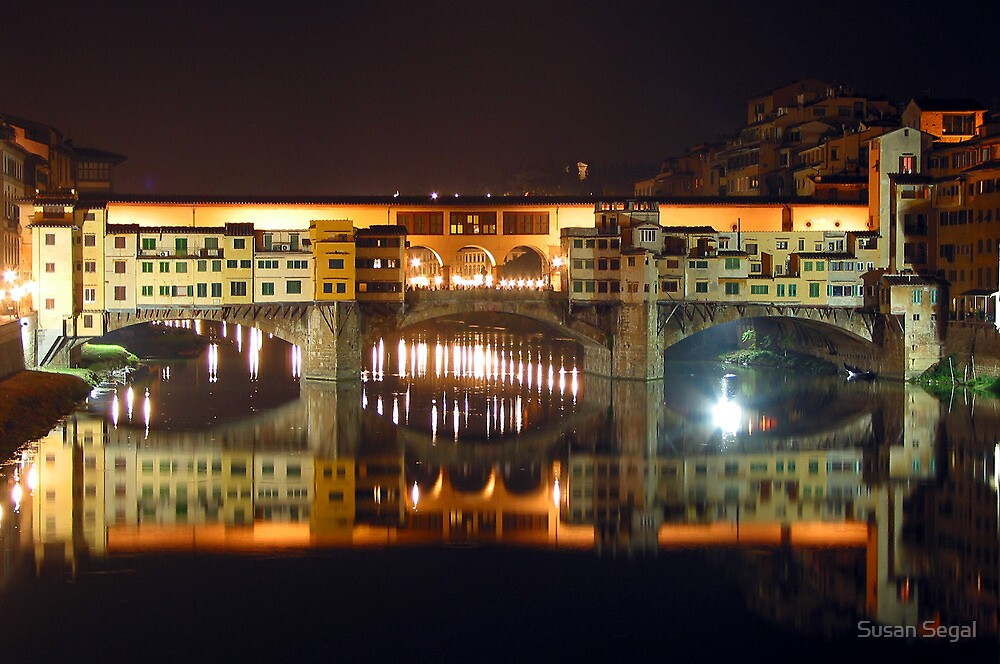 Ponte Vecchio, Florence. Italy by Susan Segal
