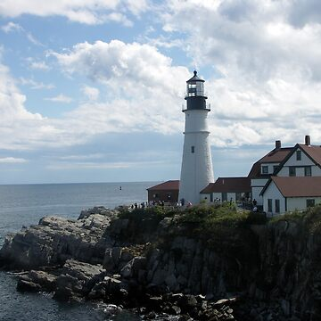 Portland Head Light by pauljsimms