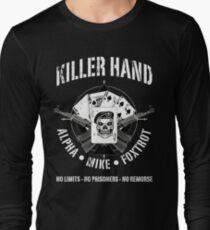 AK47-KILLER HAND Long Sleeve T-Shirt