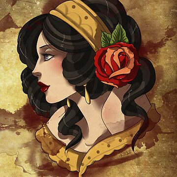 Gypsy Rose by cleveravian