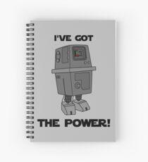 I've Got the Power Droid Spiral Notebook