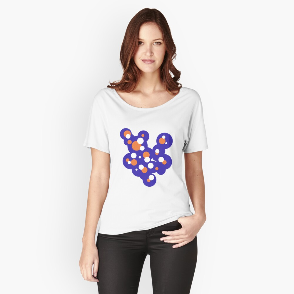 Circles # 2 Women's Relaxed Fit T-Shirt Front