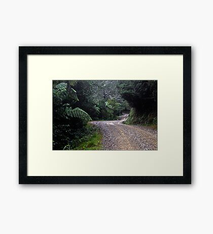 The Long Road to Freedom Framed Print