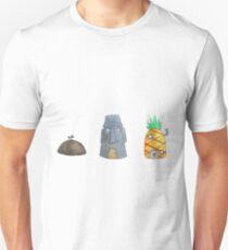 SpongeBob Houses Unisex T-Shirt