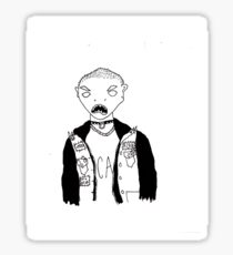 self portrait Sticker