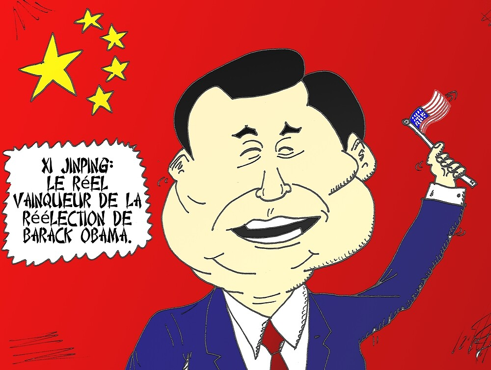 Xi JINPING caricature politique by Binary-Options