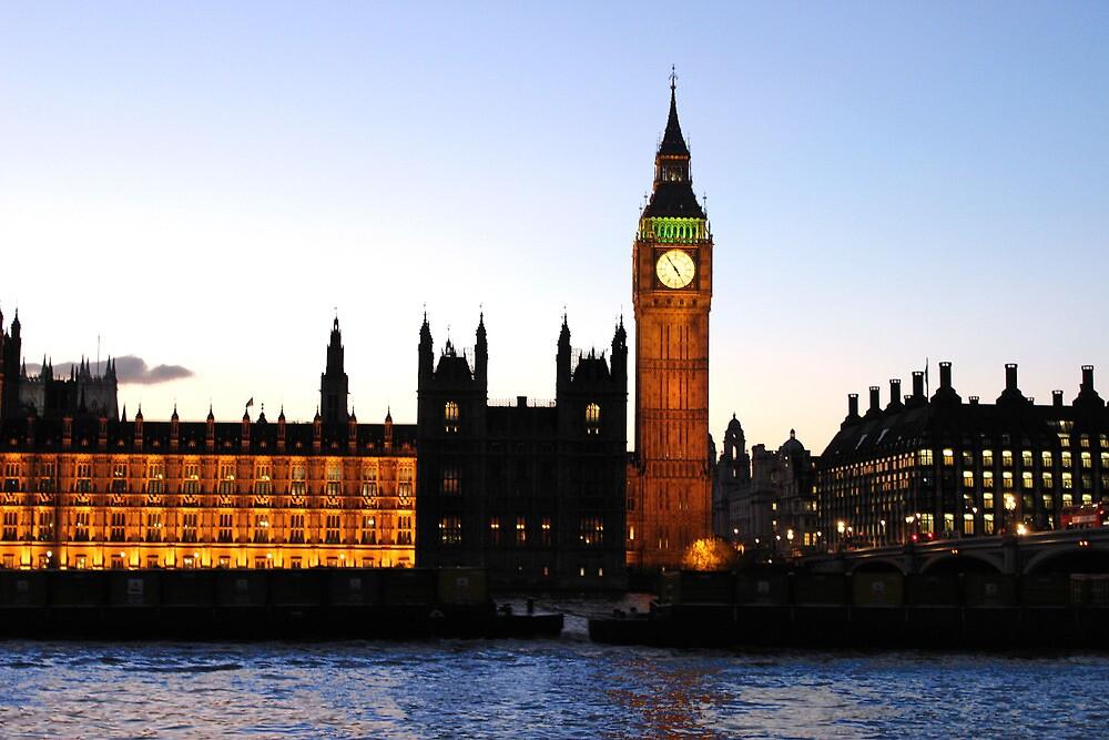 BIG BEN-London. by joshuatree2