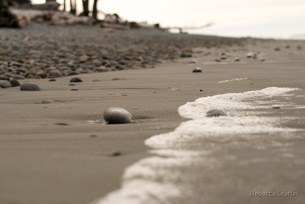Winter Beach by Rebecca Staffin